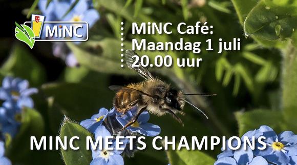 MiNC-Café 1 juli, een avond vol verrassingen