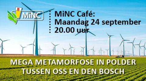 MiNC-Café maandag 24 september 20.00 uur