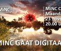 Maandag 23 november: MiNC café online via Zoom!