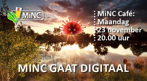 Maandag 23 november: MiNC café online via Zoom!